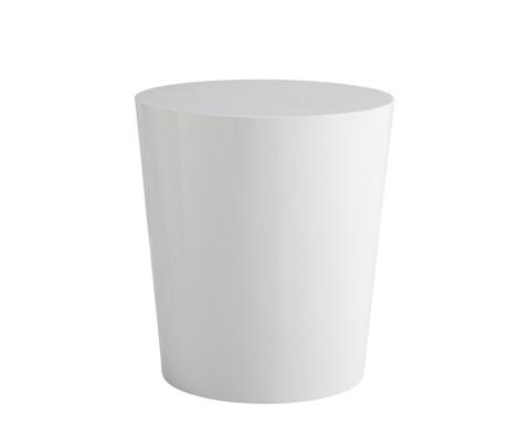 Sunpan Modern Home - Montague End Table in White - 04286