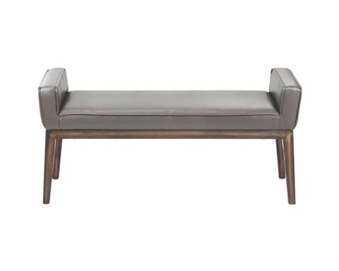Sunpan Modern Home - Harrod Leather Bench - 100388