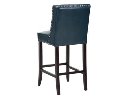 Sunpan Modern Home - Marlin Leather Barstool - 100529