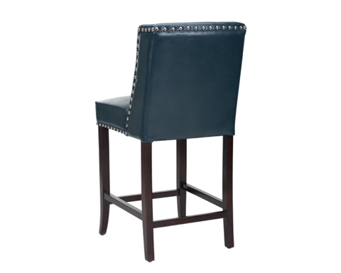 Sunpan Modern Home - Marlin Leather Counter Stool - 100531
