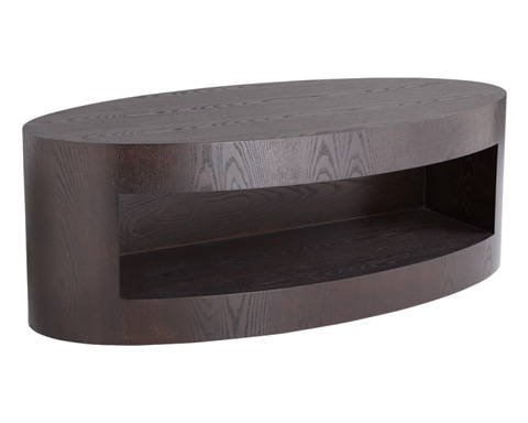 Sunpan Modern Home - Beacon Coffee Table in Espresso - 24351