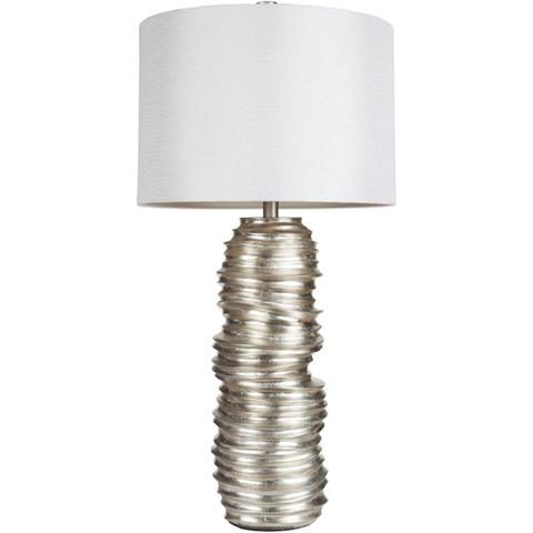 Surya - Silver Table Lamp - LMP-1030