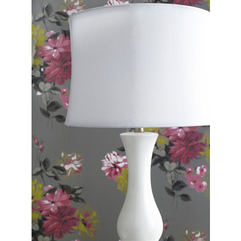 Surya - White Table Lamp - LMP-1062