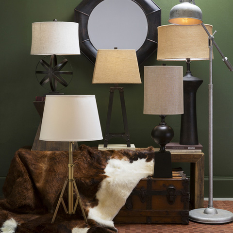 Surya - Hutton Hall Table Lamp - HHL116-TBL