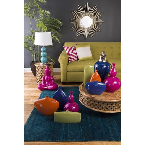 Surya - Tara Vase in Blue - TAV833-M
