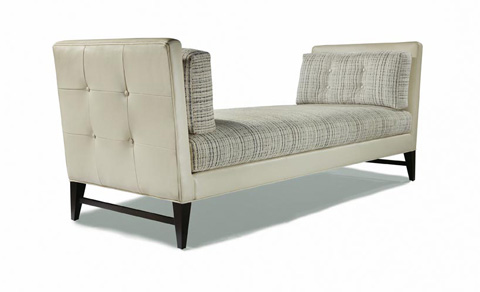 Thayer Coggin - Talking Back Day Chaise - 1295-408