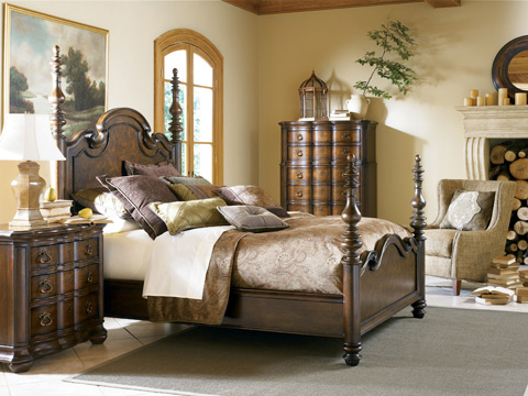 Thomasville Furniture - Lucca Poster Bed - 43612-475