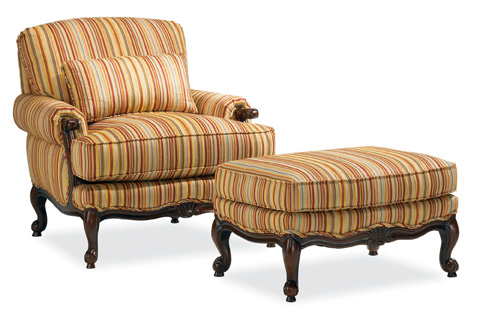 Thomasville Furniture - Margeaux Ottoman - 1185-16
