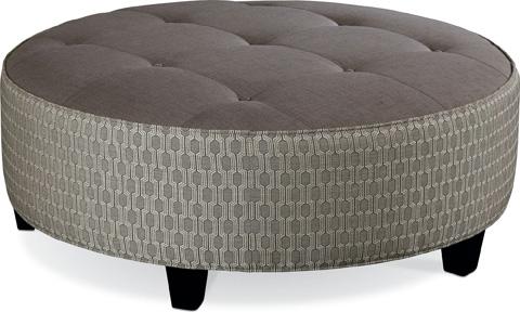 Thomasville Furniture - Brooklyn Round Button Top Ottoman - 1824-16N1