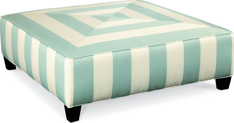 Thomasville Furniture - Brooklyn Square Plain Top Ottoman - 1831-16N1
