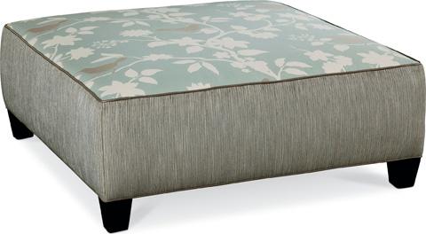 Thomasville Furniture - Brooklyn Square Plain Top Ottoman - 1833-16N1