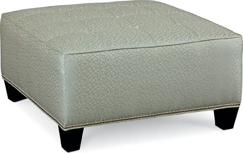Thomasville Furniture - Brooklyn Square Button Top Ottoman - 1836-16N2