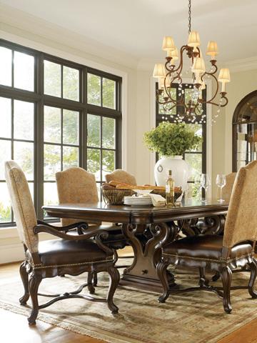 Thomasville Furniture - Bibbiano Trestle Dining Table - 43622-772