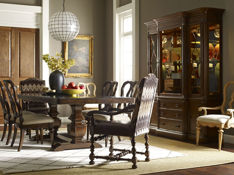 Thomasville Furniture - Paladar Double Trestle Dining Table - 84425-772