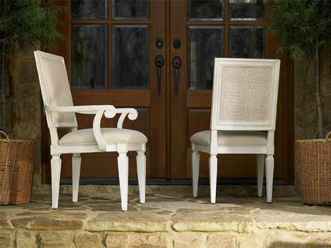 Universal Furniture - Woven Accent Dining Arm Chair - 987635-RTA