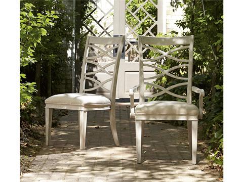 Universal Furniture - California X-Back Side Chair - 476634-RTA