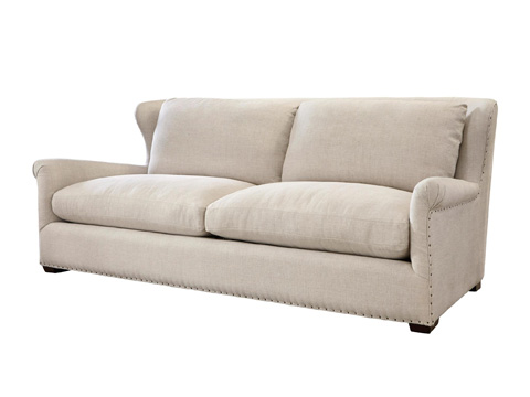 Image of Haven Sofa in Belgian Linen