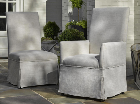 Universal Furniture - Sojourn Respite Upholstered Side Chair - 543A638-RTA