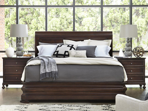 Image of Sleigh Queen Bed