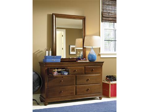 Universal - Smart Stuff - Saddle Brown Drawer Dresser - 1311002