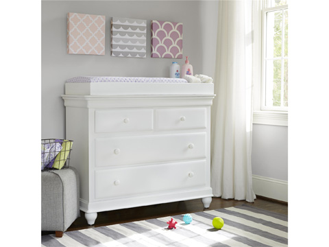 Universal - Smart Stuff - Summer White Single Dresser - 131A001