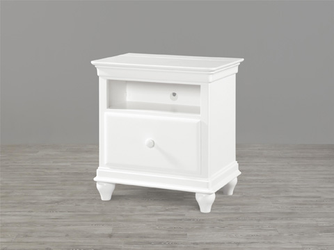 Universal - Smart Stuff - Summer White One Drawer Nightstand - 131A080
