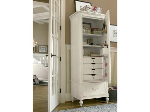 Universal - Smart Stuff - Gabriella Mirror Front Storage Armoire - 136A014