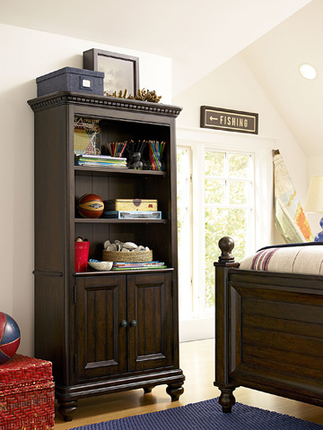 Universal - Smart Stuff - Paula Deen Guys Books & Stuff Bookcase - 2391018