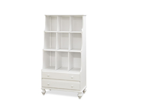 Image of Black and White Bookcase