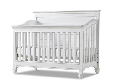 Universal - Smart Stuff - Black and White Convertible Crib - 437A310