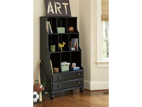 Universal - Smart Stuff - Black and White Bookcase - 437B018