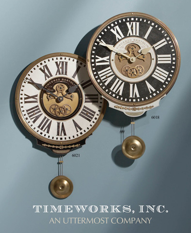 Image of Vincenzo Bartolini Cream Wall Clock