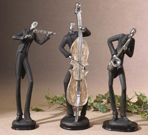 Uttermost Company - Musicians Decorative Figurines - 19061