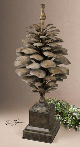 Uttermost Company - Suzuha Large Metal Finial - 19235