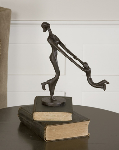 Uttermost Company - At Play Mother and Child Sculpture - 19445