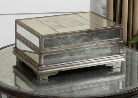 Uttermost Company - Trory Mirrored Decorative Box - 19545