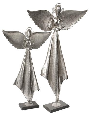 Uttermost Company - Angels Antique Nickel Sculpture - 19570