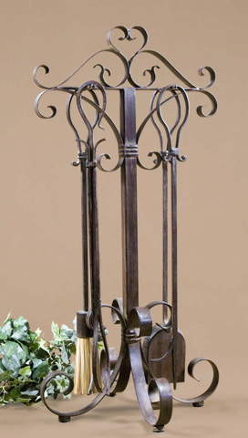 Uttermost Company - Daymeion Metal Fireplace Tools - 20338