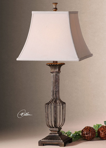 Uttermost Company - Anacapri Antique Gold Table Lamp - 26262