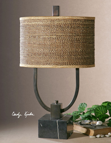 Uttermost Company - Stabina Metal Table Lamp - 26541-1