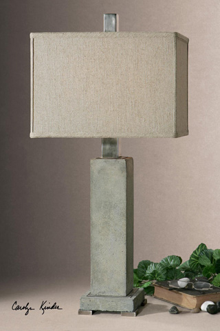Uttermost Company - Risto Concrete Table Lamp - 26543-1
