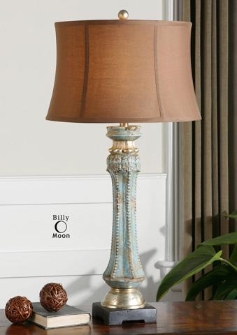 Image of Deniz Blue Table Lamp