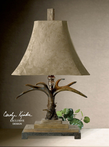 Uttermost Company - Stag Horn Table Lamp - 27208
