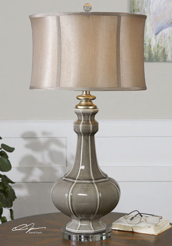 Uttermost Company - Racimo Gray Table Lamp - 27427-1