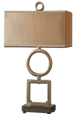 Uttermost Company - Rashawn Coffee Bronze Table Lamp - 27498-1