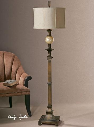 Uttermost Company - Tusciano Dark Bronze Floor Lamp - 28241-1