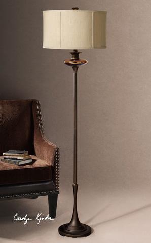 Uttermost Company - Lahela Copper Bronze Floor Lamp - 28457-1