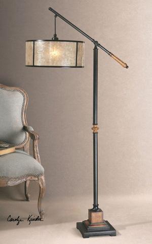 Uttermost Company - Sitka Lantern Floor Lamp - 28584-1