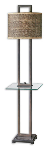 Uttermost Company - Stabina End Table Floor Lamp - 28718-1