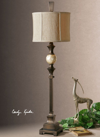 Uttermost Company - Tusciano Dark Bronze Floor Lamp - 29293-1